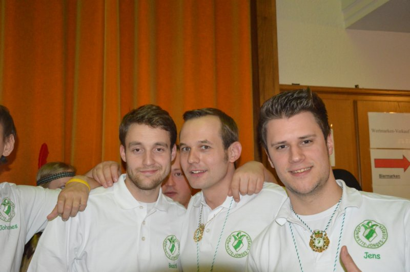 Blau Grüne Altweiberparty 2015